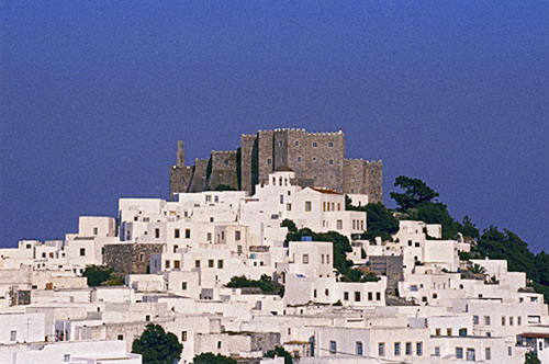 xora patmos island greece